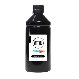 Tinta para Bulk Ink HP 412 Black 500ml Pigmentada Aton