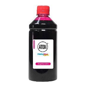Tinta para Bulk Ink HP GT52 Magenta 500ml Corante Aton