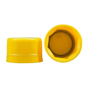 Tampa Rosca Lacre 28mm Yellow