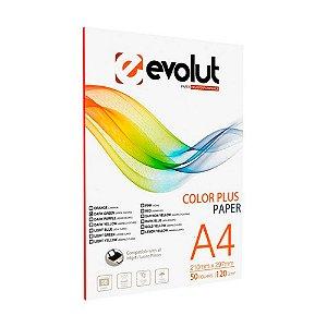 Papel Color Plus (Verde Escuro) 120gr A4 - 50 Folhas