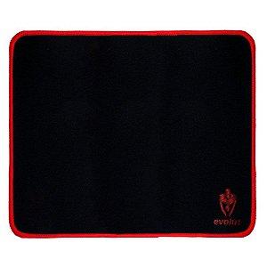 Mousepad Gamer EG401BK Pequeno Preto Evolut