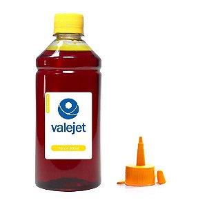 Tinta para Cartucho Brother MFC-J4310DW Yellow 500ml Corante Valejet
