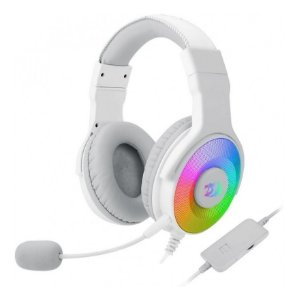 Headset Pandora 2 Rgb H350 Branco White - Redragon