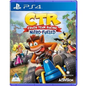 Jogo Crash Team Racing Nitro-Fueled PS4