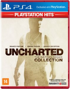 Jogo Uncharted The Nathan Drake Collection - PS4 Hits