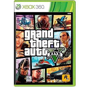 Jogo Grand Theft Auto V - Xbox 360