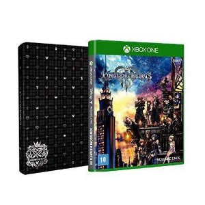 Jogo Kingdom Hearts lll Steelbook Edition - Xbox One