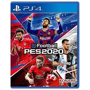 Jogo EFootball PES 2020 - PS4