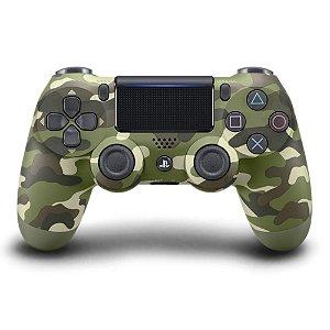 Dualshock 4 Verde Camuflado