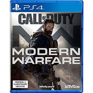 Jogo Call of Duty Modern Warfare - PS4