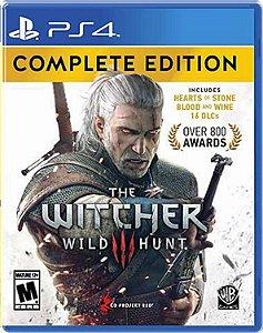 Jogo The Witcher 3 Wild Hunt - PS4
