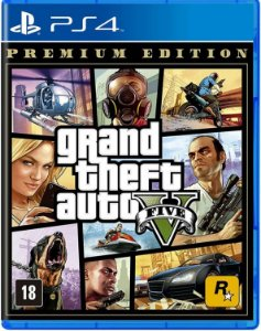 Jogo Grand Theft Auto V ( GTA V ) Premium Edition - PS4