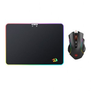 Kit Redragon Mouse Griffin M607+ Mousepad Rgb P010