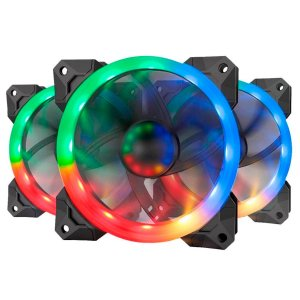 Kit C/ 3 FANS Redragon RGB GC-F008