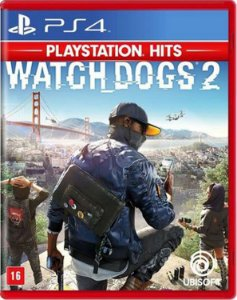 Jogo Watch Dogs 2 Ps4 HITS