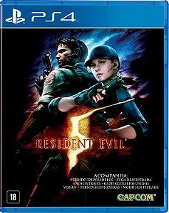 Jogo Resident Evil 5 - Ps4