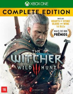 The Witcher Wild Hunt Edicão Completa - XBOX ONE