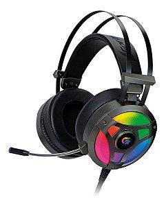 Headset Gamer Fortrek G Pro H1 Rgb Cinza