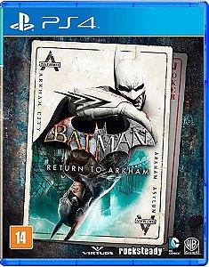 Batman Return To Arkham - Ps4