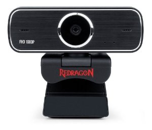 Webcam Full Hd 1080p Redragon Gw800 Streaming Hitman - 360°