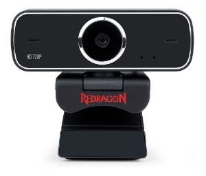 Webcam Redragon Gw600 Streaming Fobos Hd 720p Rotação 360°