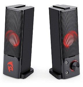 Caixa De Som Speaker Gamer Redragon Orpheus Gs550