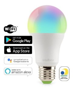 Lampada Led Smart Wi-fi Ews410 Intelbras