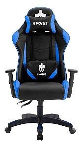 Cadeira Gamer Evolut Lite Eg904 Azul