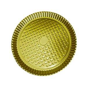 Prato N.05 28cm Ouro 1un