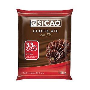 Chocolate Em Po 33% 1,01kg Sicao