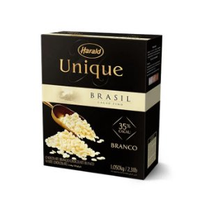 Chocolate Gotas De Branco Unique 35% 1,05k