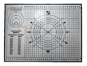 Tapete Confeiteiro Silicone Tc0491 40x60 Feri