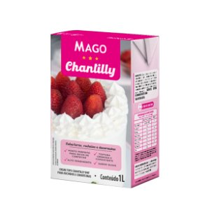 Creme Tipo Chantilly Uht 1lt Mago