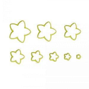 Cortador Estrela Com 8pc Blue Star