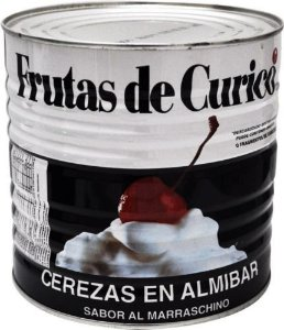 Cereja Marasquino S/Talo 1,8kg Curico