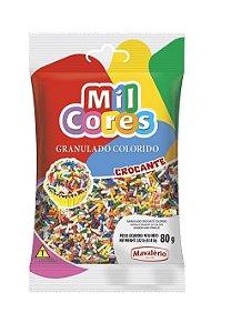 Granulado 80g Colorido Mil Cores