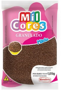 Granulado Macio 1,01kg Chocolate Mil Cores