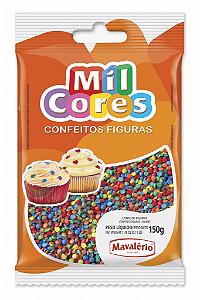 Confeito Figura 150g Mini Confete Mil