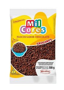 Flocos Chocolate Crocante 500g Mil Cores