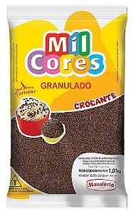 Granulado Crocante 1,01kg Chocolate Mil Cor