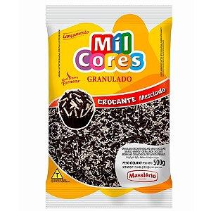 Granulado Crocante Mesclado 500g Chocolate