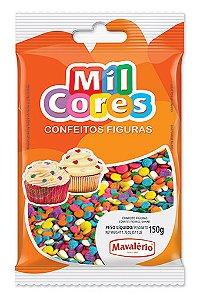 Confeito Figura 150g Confete Mil Cores
