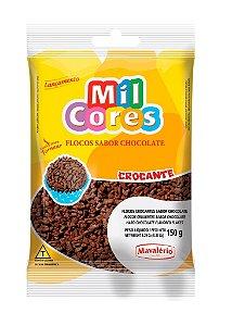 Flocos Chocolate Crocante 150gr Mil Cores
