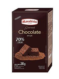Chocolate Em Po 70% 200g Cacau Mavalerio