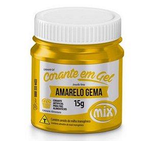 Corante Em Gel Mix 15g Amarelo Gema