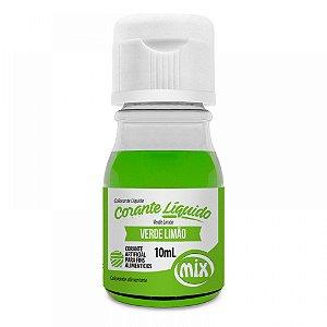 Corante Liquido Mix 10g Verde Limao