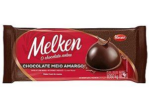 Chocolate Melken Meio Amargo 1,05kg Harald
