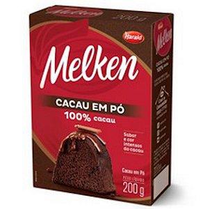 Cacau Em Po 100% 200g Melken