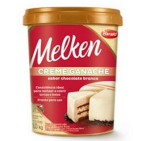 Creme Tp Ganache Branco 1kg Harald
