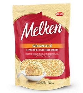 Melken Granule Chocolate Branco 400g